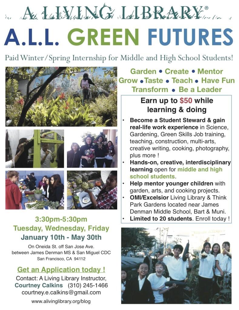Spring Green Futures Flyer