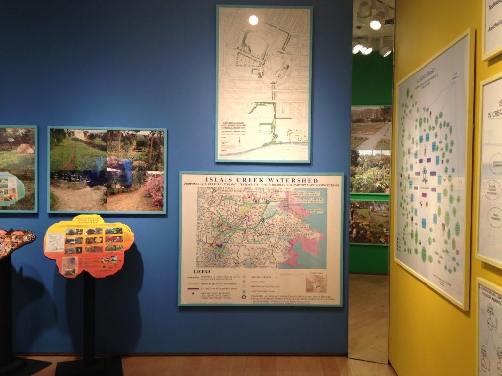 Bonnie Ora Sherk's installation at Nevada Museum of Art