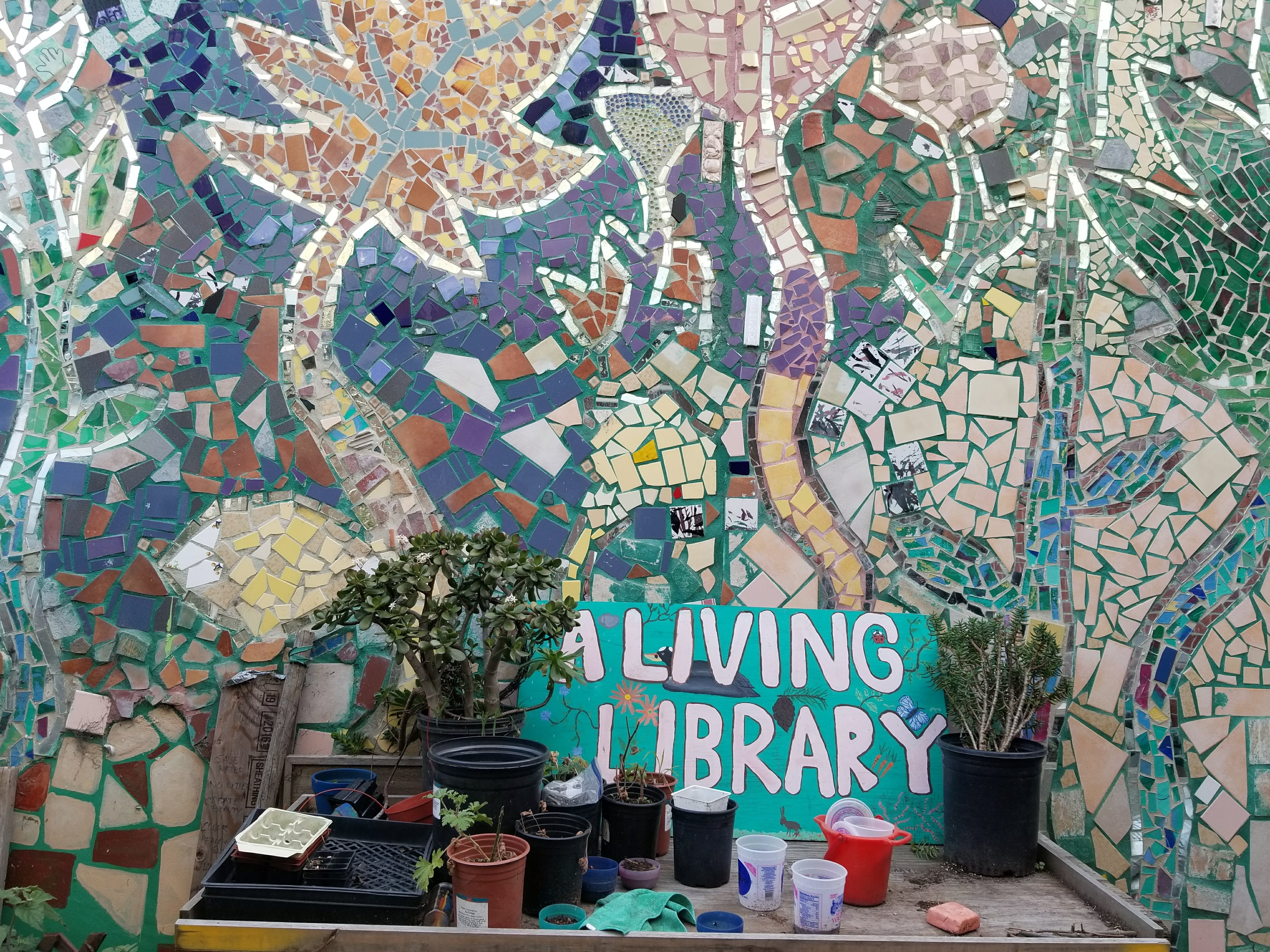 OMI/ Excelsior Living Library, Lower Garden
