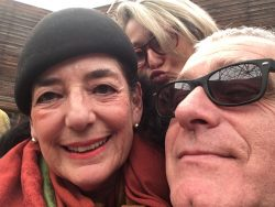 Selfie with Lucia Ranabaldo and Marco Scotini
