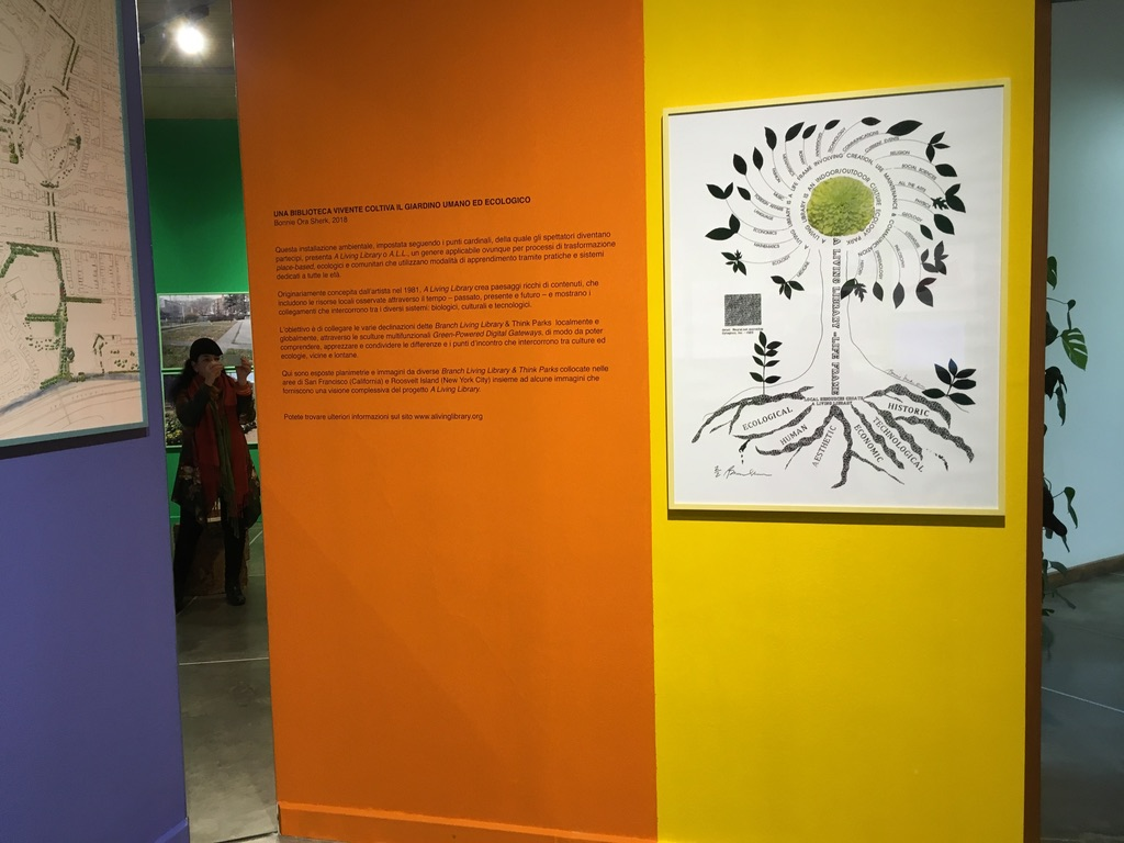 Bonnie Ora Sherk at PAV, Turin