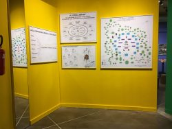 Yellow Wall, Bonnie Ora's installation at PAV