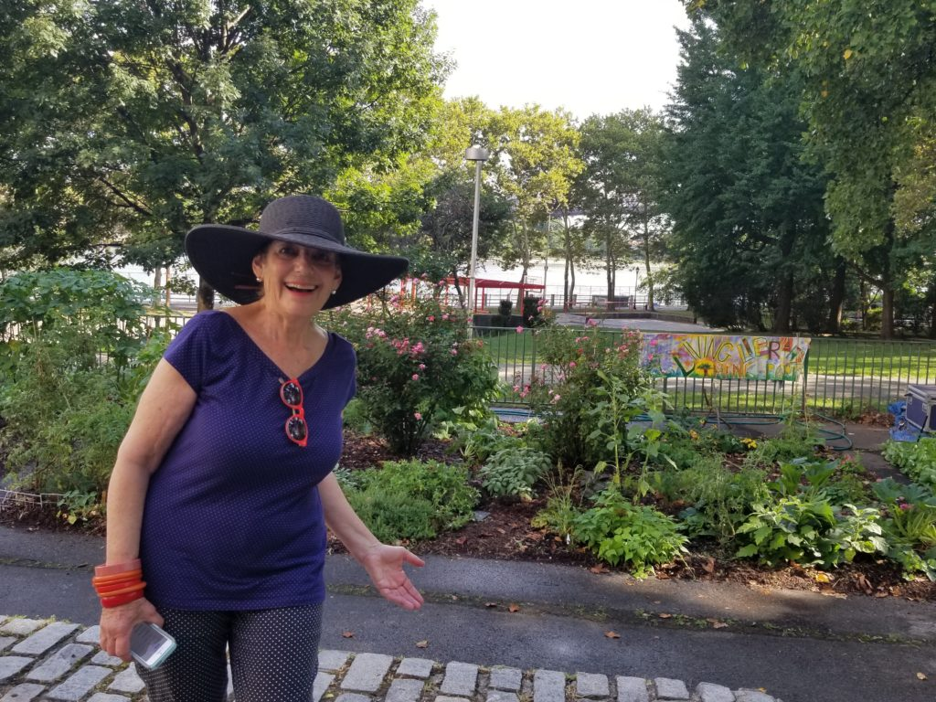 Bonnie Ora in RI Living Library & Think Park